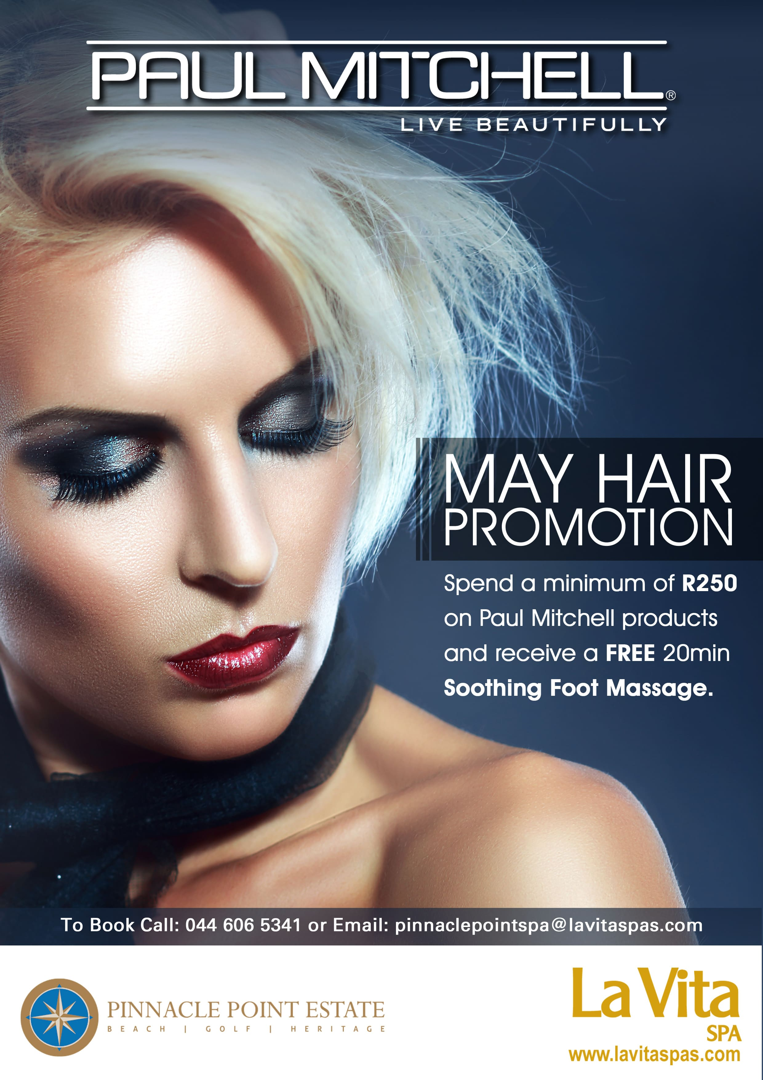 May - Paul Mitchell promotion