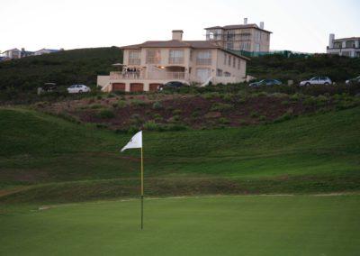 Course view towards Fynbos units