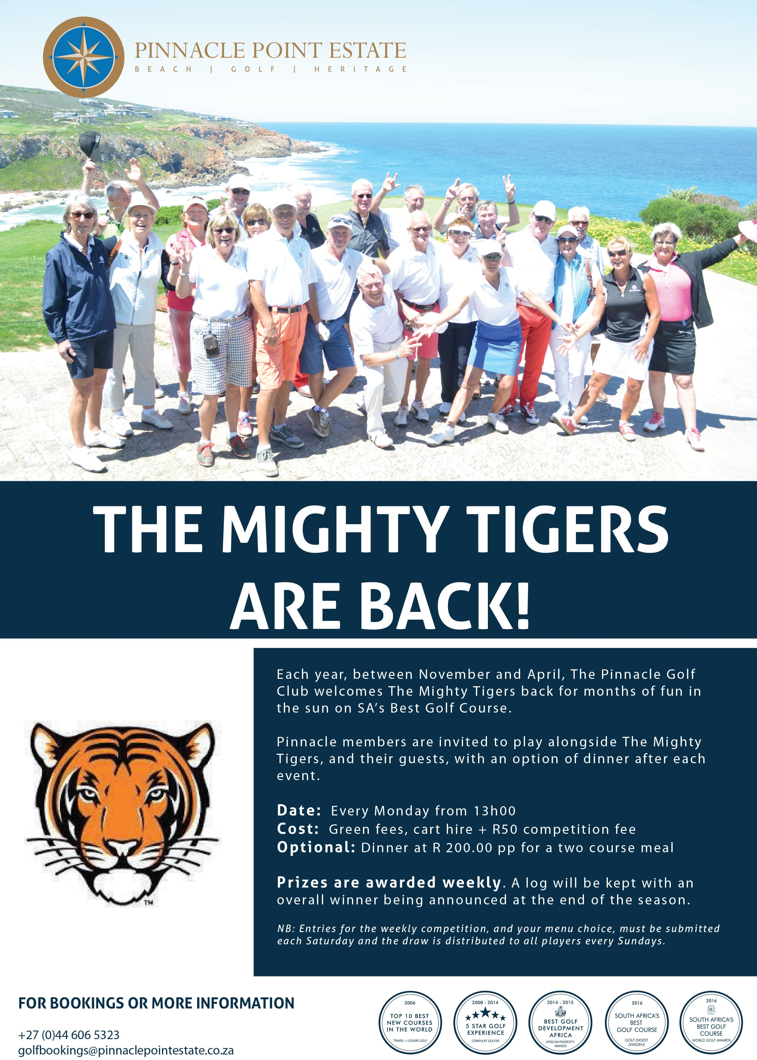 The Mighty Tigers | Pinnacle Point Estate